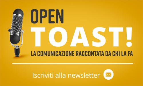 Open Toast - iscriviti alla newsletter